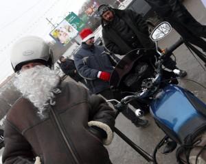 Безумный Дед Отмороз...