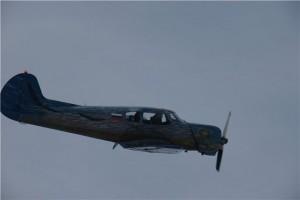 Налетевший самолетег!